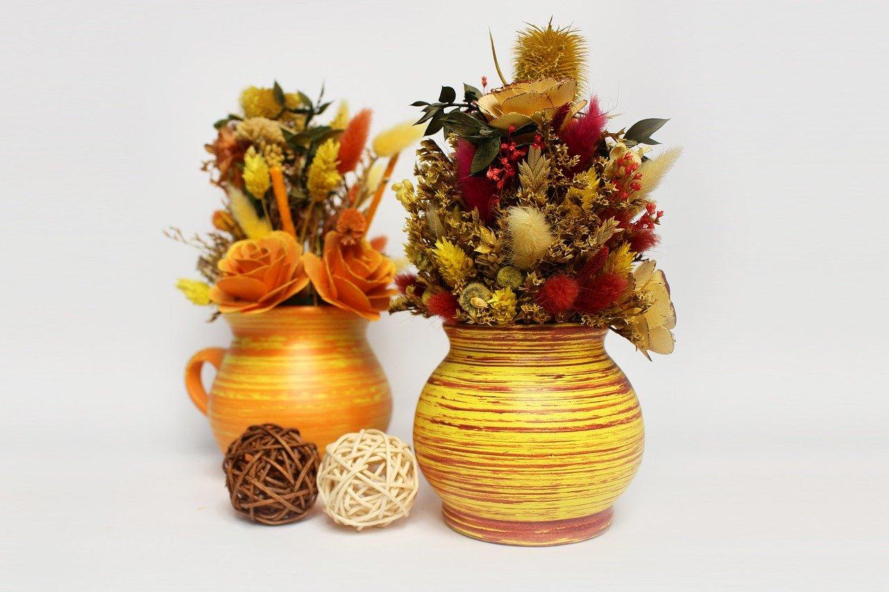 dekorace květiny